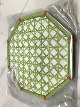 Load image into Gallery viewer, Caspari Die Cut Coasters - Holly Trellis
