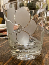 Load image into Gallery viewer, Vintage Glass Etched Rocks or Juice Glasses