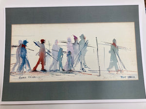 Going Skiing Jane Carter Print