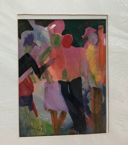 "Matted Print by Jane Carter - ""Celebration"""