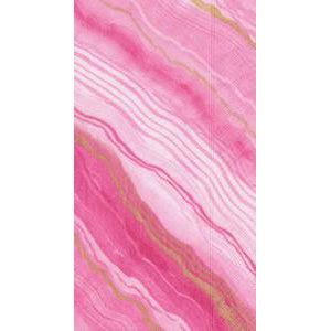 Marble Rose Paper Guest Towels