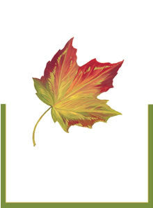 Maple Leaf Die Cut Place Cards - Chestnut Lane Antiques & Interiors - 2