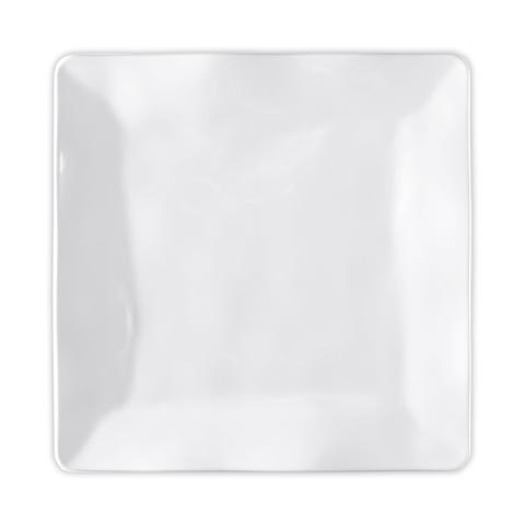 Ruffle Square Dinner Plate