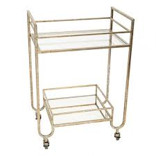 Summit Gold Bar Cart