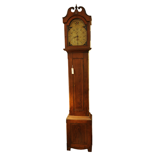 Antique 1820's Tall Case Clock