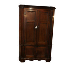 Load image into Gallery viewer, Southern 19th Century Walnut Corner Cupboard