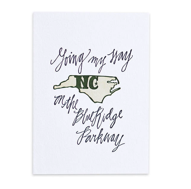 North Carolina Print -
