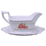 Wedgwood Flying Cloud Gravy Boat and Server - Chestnut Lane Antiques & Interiors - 1