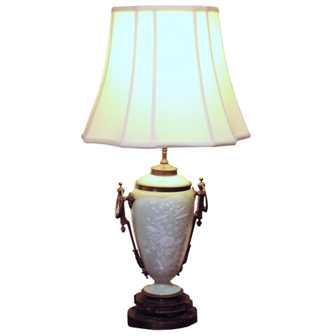 French Celadon Lamp - Chestnut Lane Antiques & Interiors - 1