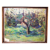 Eugenij Kleno Spring Landscape (Dutch, 1921-2005) - Chestnut Lane Antiques & Interiors - 1