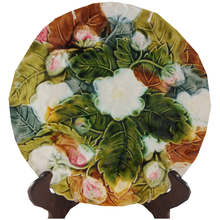 Load image into Gallery viewer, Antique Majolica Strawberry Plate 19th Century - Chestnut Lane Antiques & Interiors - 1
