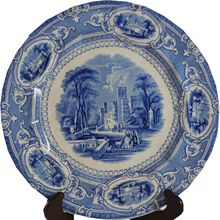 Load image into Gallery viewer, Antique Blue Transferware Plate - Chestnut Lane Antiques & Interiors - 1