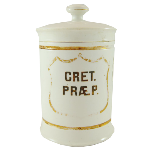 Early French Apothecary Jar