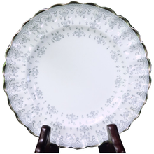 Load image into Gallery viewer, Spode Fleur De Lys Gray Bone China Bread and Butter Plate