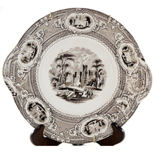 Load image into Gallery viewer, Wedgwood Corinthia Transferware Cake Plate - Chestnut Lane Antiques & Interiors - 1