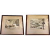 Pair of Russian Paintings on Silk - Chestnut Lane Antiques & Interiors - 1