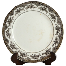Load image into Gallery viewer, Brown French Transferware Plate - Chestnut Lane Antiques & Interiors - 1