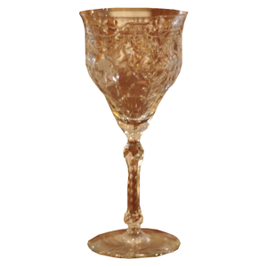 Vintage Rock Sharpe Pattern Water Goblet - Chestnut Lane Antiques & Interiors - 1