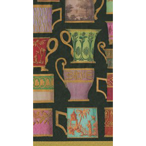 Salon de Thé Black Paper Guest Towels - Chestnut Lane Antiques & Interiors