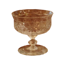 Load image into Gallery viewer, Vintage Rock Sharpe Pattern Low Sherbet Glass - Chestnut Lane Antiques & Interiors - 1