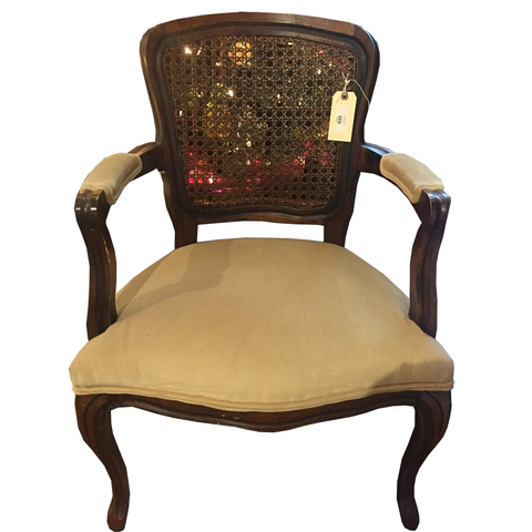Cane Back Chair - Chestnut Lane Antiques & Interiors