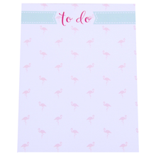 "Load image into Gallery viewer, Flamingo ""To do"" Mini Notepad - Chestnut Lane Antiques & Interiors - 1"