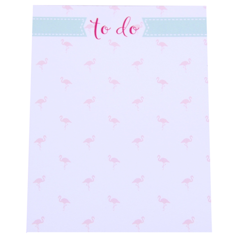 "Flamingo ""To do"" Mini Notepad - Chestnut Lane Antiques & Interiors - 1"