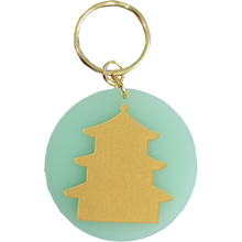 Load image into Gallery viewer, Eden Keychain - Mint Pagoda - Chestnut Lane Antiques & Interiors - 1