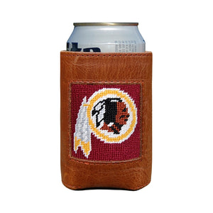 Washington Redskins Needlepoint Can Cooler - Smathers & Branson