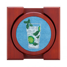 Load image into Gallery viewer, Cocktails Needlepoint Coasters