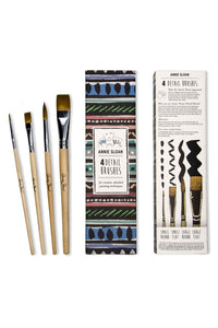 Annie Sloan Set of 4 Detail Brushes