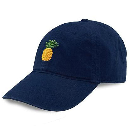 Pineapple Needlepoint Hat