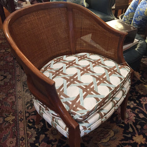 Barrel Back Chair - Chestnut Lane Antiques & Interiors - 4
