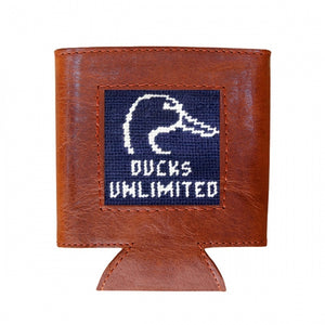 Smathers & Branson Needlepoint Can Cooler - Ducks Unlimited