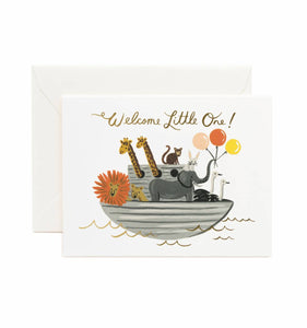 Rifle Paper Co. Greeting Card - Noah's Ark