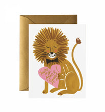 Load image into Gallery viewer, Mane Squeeze Greeting Card