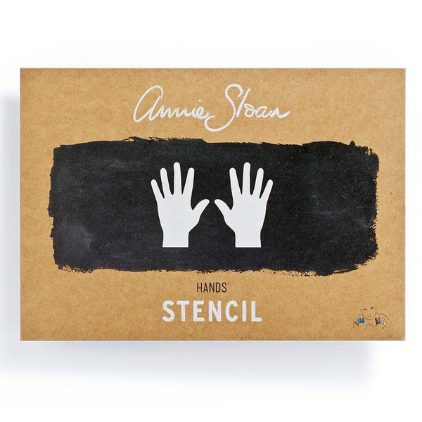 Hands Annie Sloan Stencil - Chestnut Lane Antiques & Interiors - 1