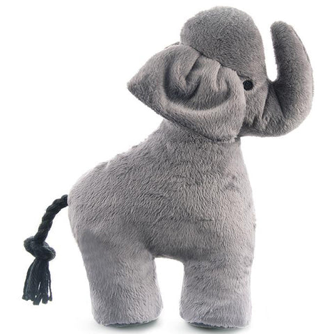 Elephant Plush Dog Toy