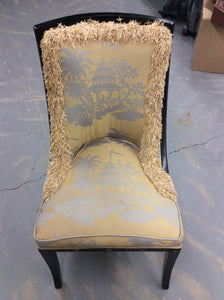Newly Upholstered Federal Style Antique Chair - Chestnut Lane Antiques & Interiors - 3