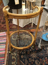 Load image into Gallery viewer, Rattan Bar Cart - Chestnut Lane Antiques & Interiors - 3