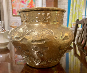 Early Brass Planter