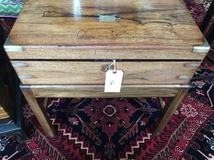 19th Century Lap Desk on a Stand - Chestnut Lane Antiques & Interiors - 2