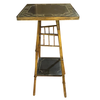 Bamboo table with painted top - Chestnut Lane Antiques & Interiors - 1