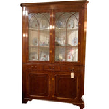 Large Corner Cupboard - Chestnut Lane Antiques & Interiors - 1