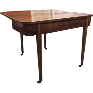 Early 19th Century Federal Style Game Table - Chestnut Lane Antiques & Interiors - 1