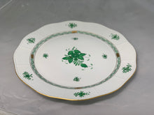 Load image into Gallery viewer, Herend Chinese Bouquet Green Round Platter