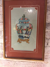 Load image into Gallery viewer, Cross Stitch Ginger Jar - Chestnut Lane Antiques & Interiors - 1