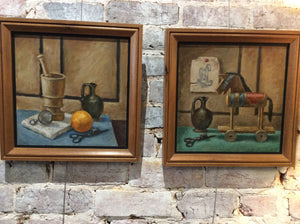Pair of Still Life Paintings - Chestnut Lane Antiques & Interiors - 2