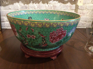 Monumental Straits Porcelain Center Bowl - Chestnut Lane Antiques & Interiors - 2