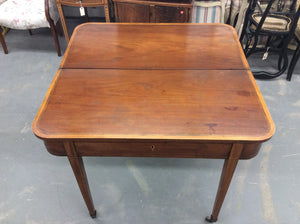 Early 19th Century Federal Style Game Table - Chestnut Lane Antiques & Interiors - 2